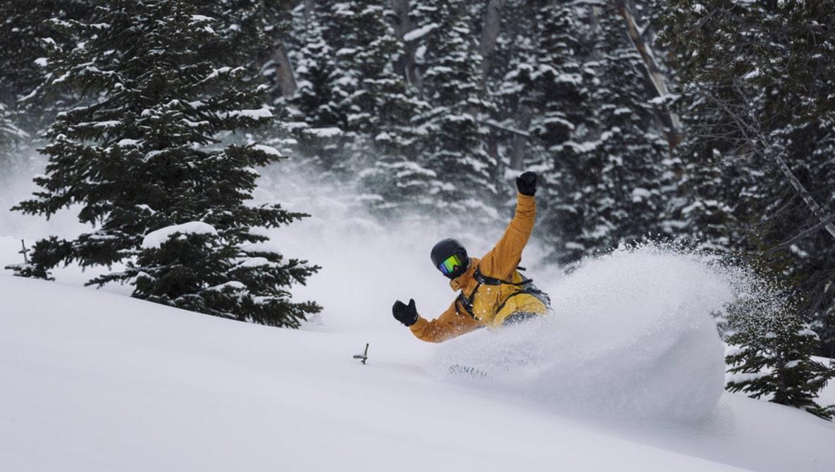 skiing camera