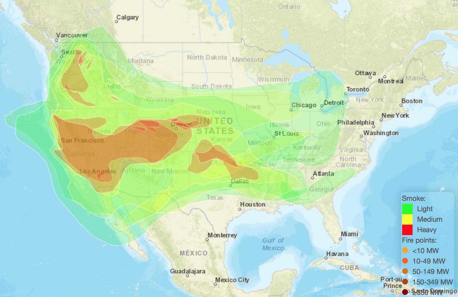 Smoke Forecast
