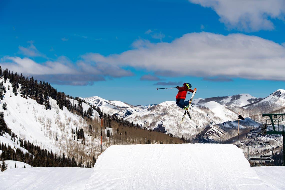 brighton ski resort utah snowbrains jump credit visit