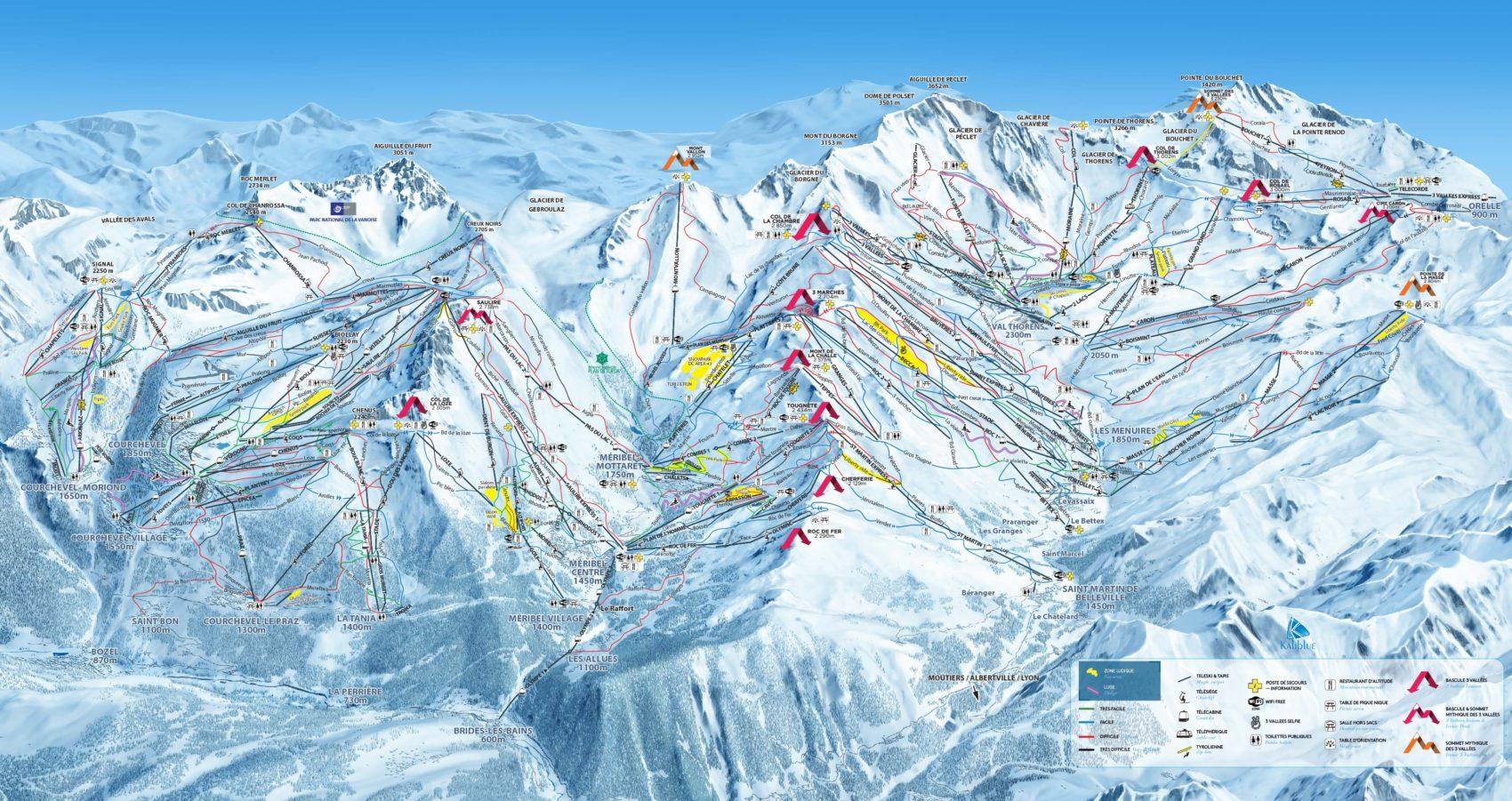 Biggest ski area in the world