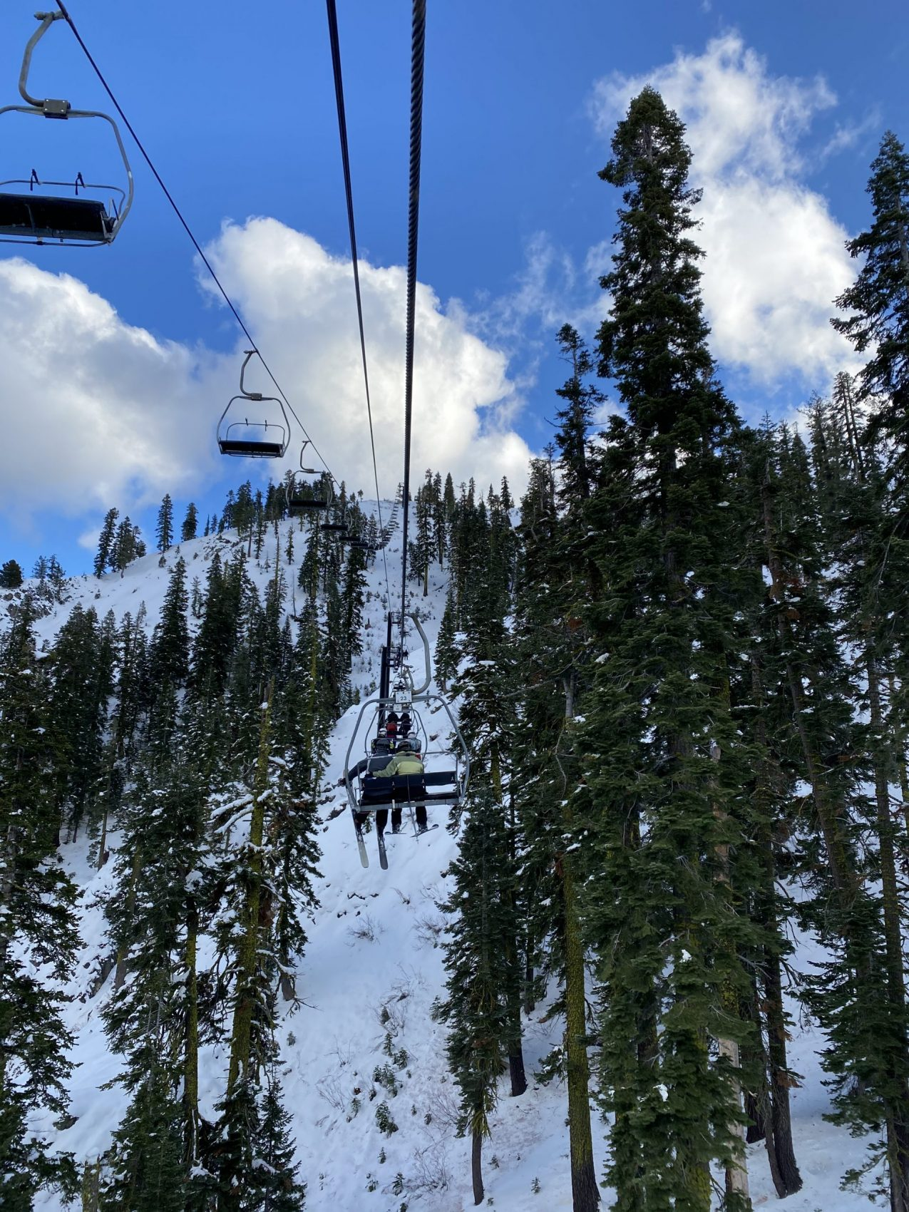 Chairlift to Heaven, Squaw Valley,