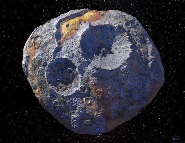 16 psyche, asteroid, quadrillion