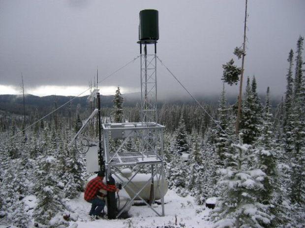 Cloud Seeding Ground Station