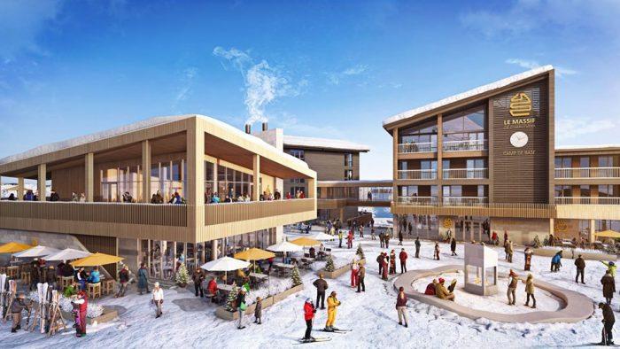Le Massif Village Proposal Winter
