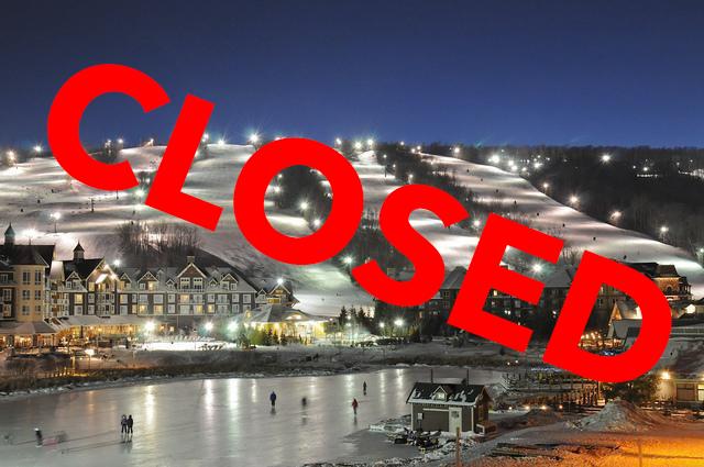 Ontario shut down