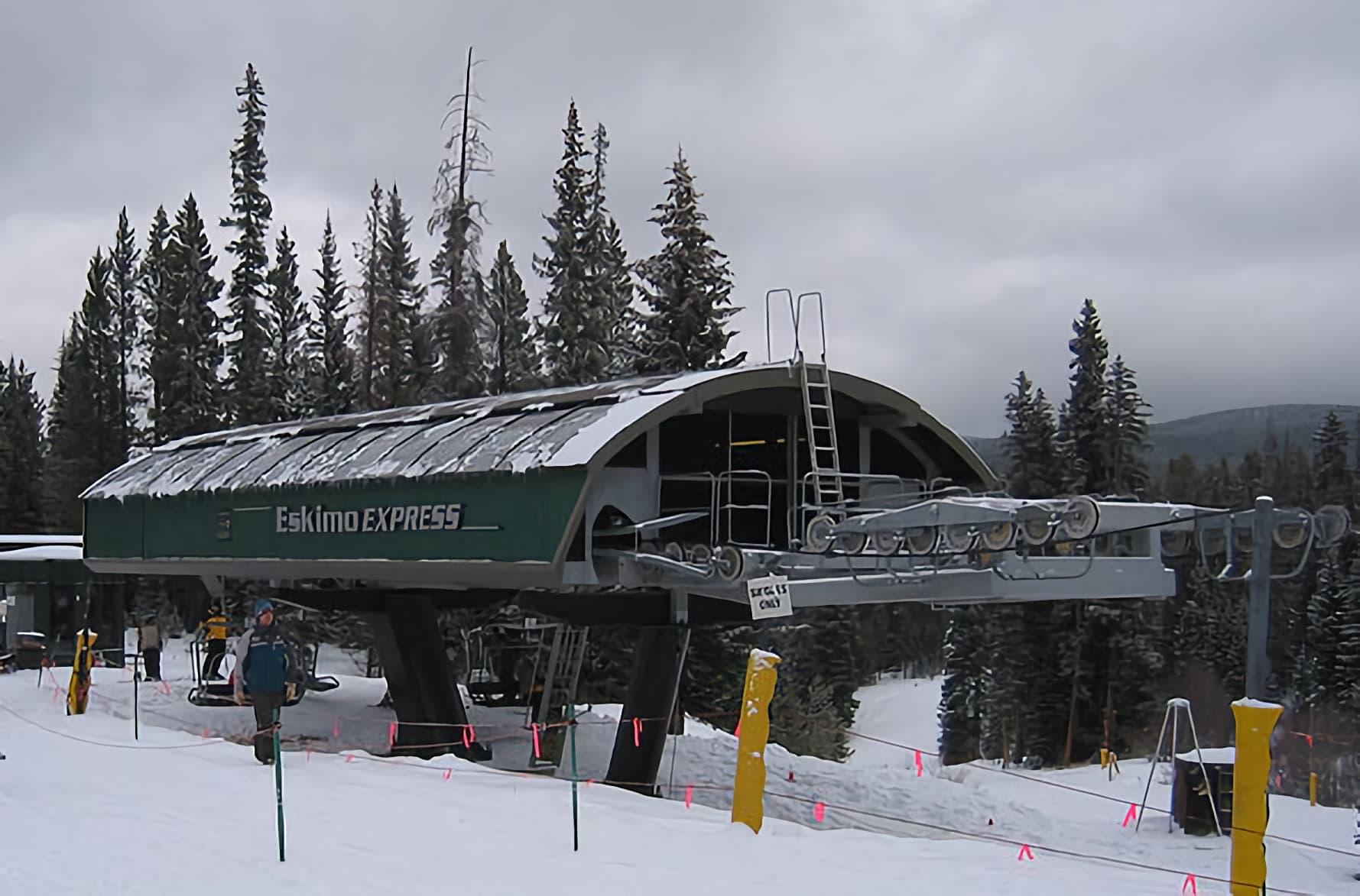 winter park resort, colorado, Eskimo Express, explorer express, renamed, derogatory