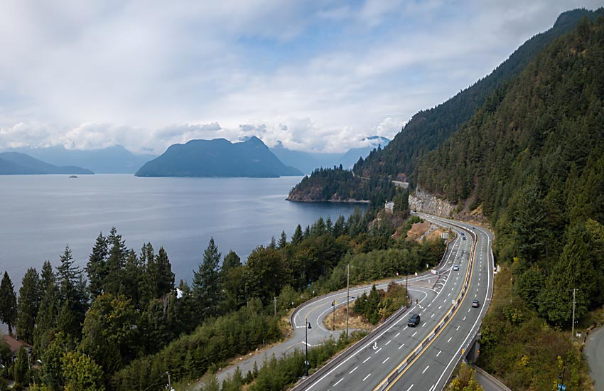 British Columbia Sea to Sky Highway