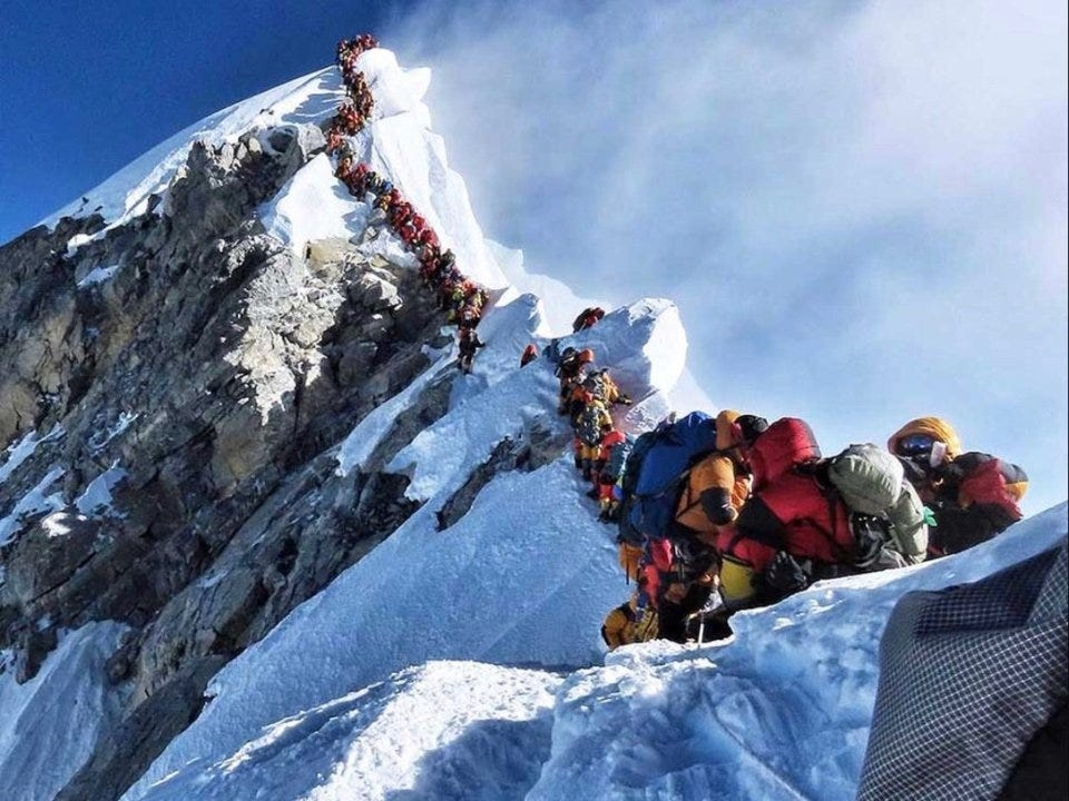 death zone of mount everest