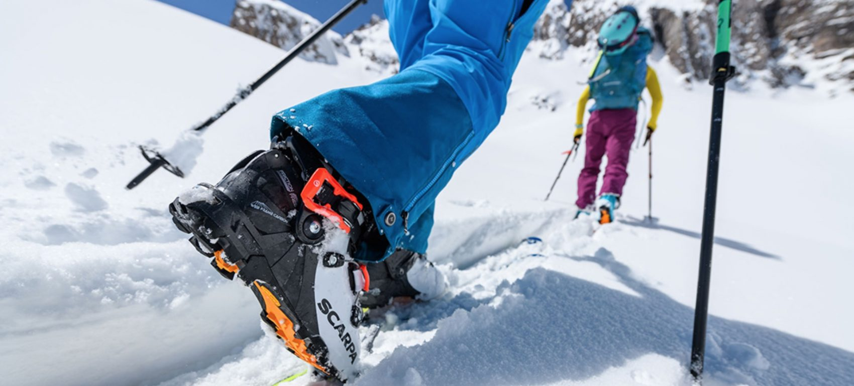 SCARPA Gea RS in action