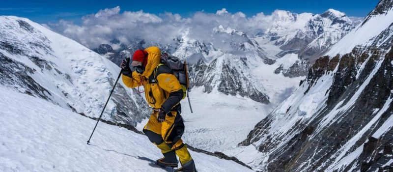 extreme mountain condition