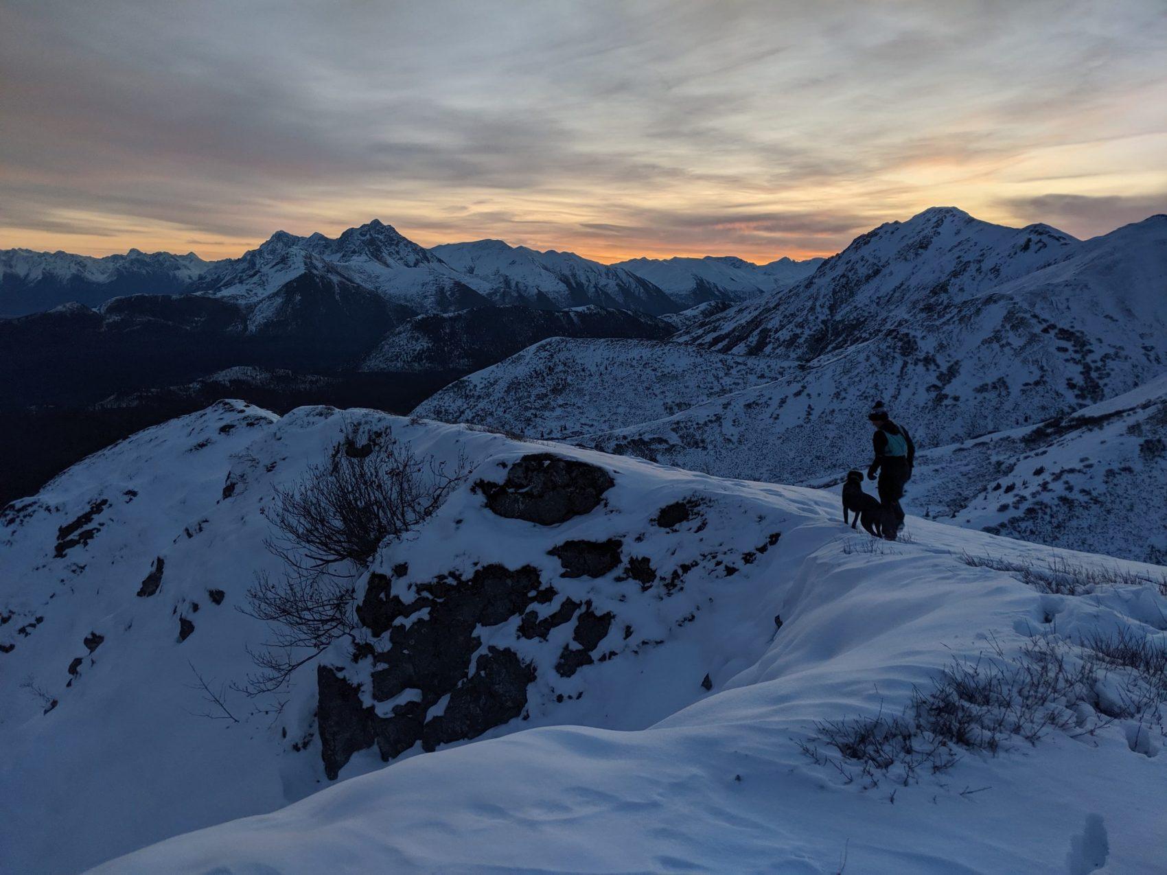 alaska, bear mountain, Chugach,