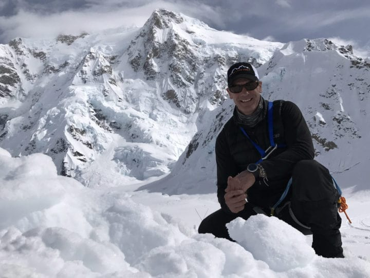 picture showing mark pattison on climb
