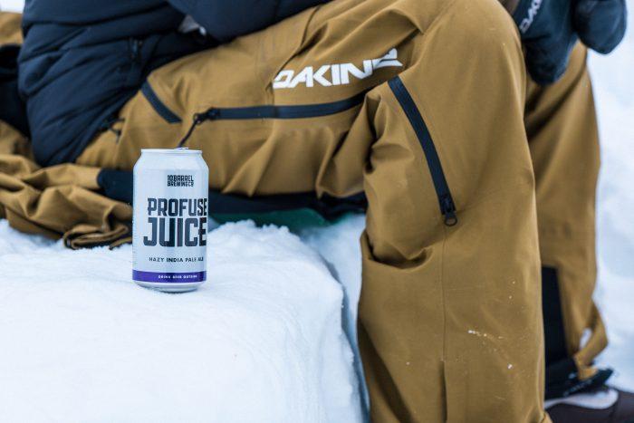 Profuse Juice is one of 10 barrel beers favorite snow drinks
