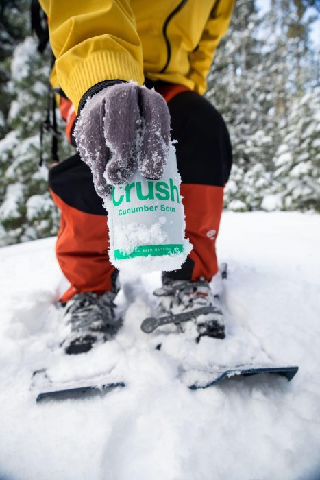 Enjoy Crush Sour in the snow