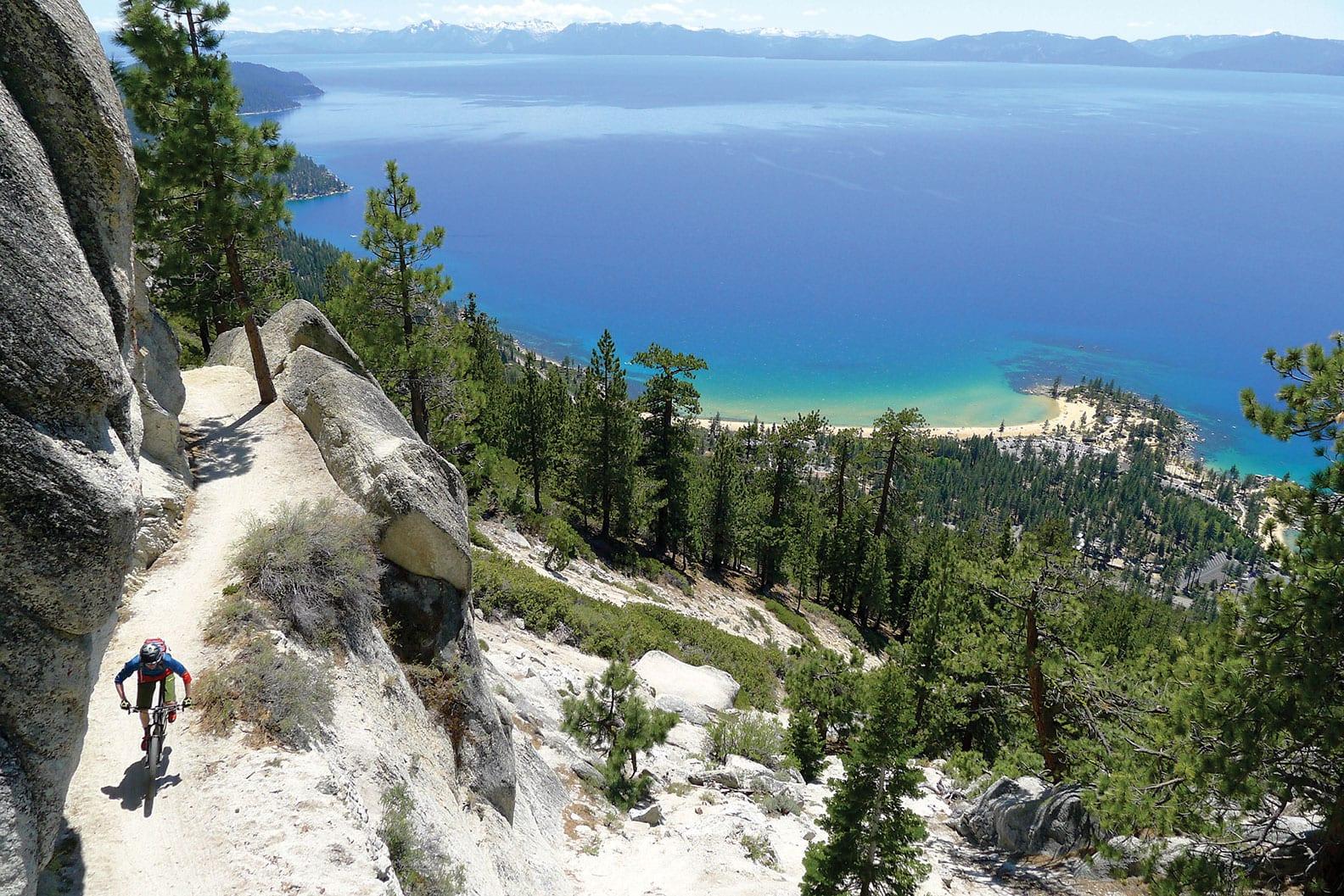 Lake Tahoe bike trails