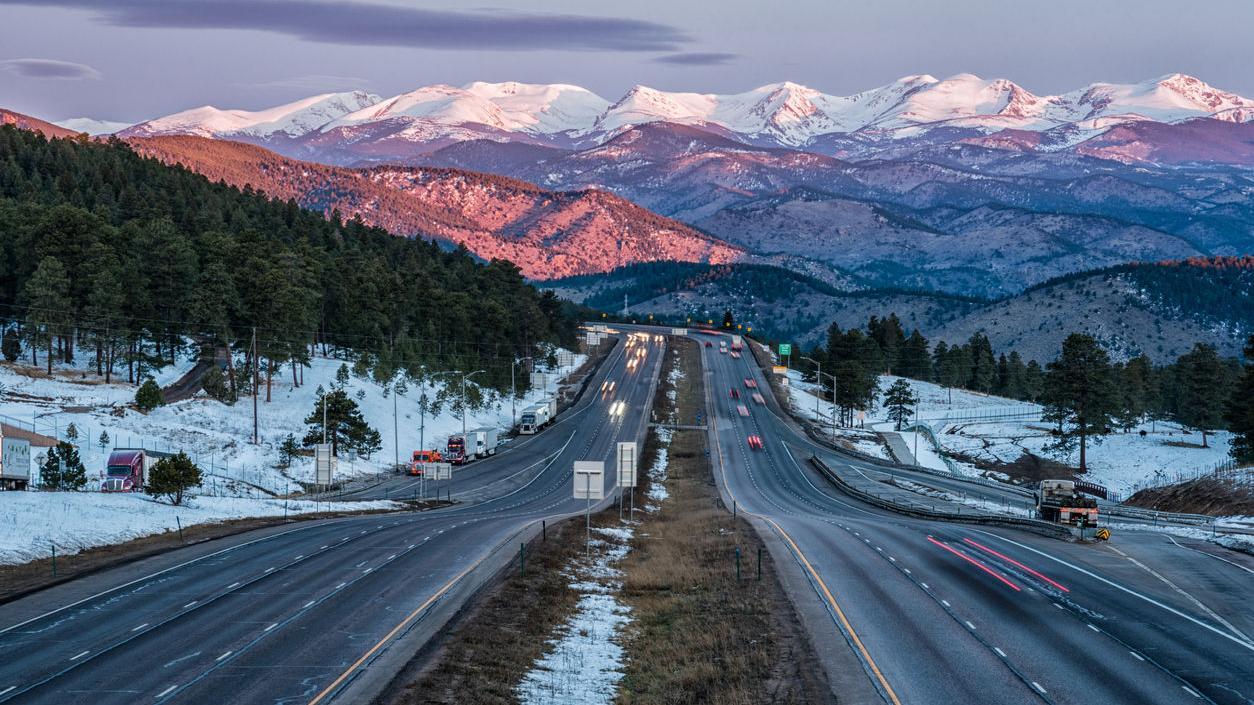 I-70 through Colorado