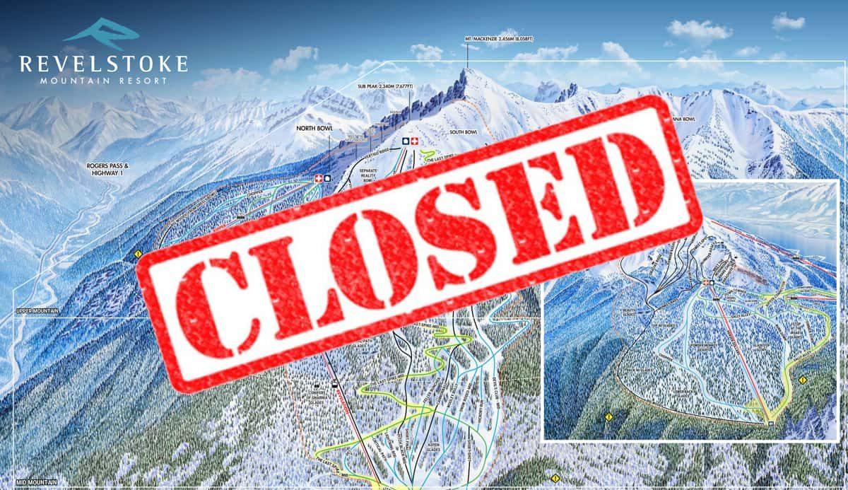 Revelstoke, British Columbia, covid-19, closed,