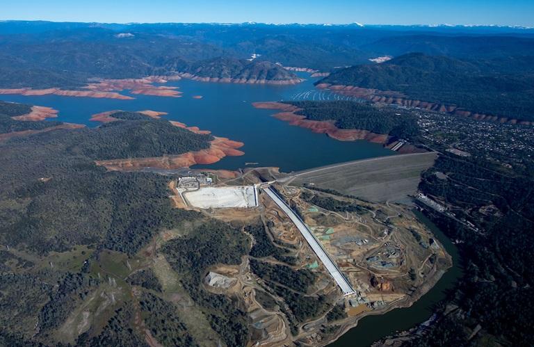 Water Reservoir In California