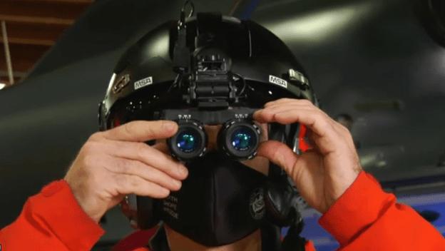 avalanche rescue night vision