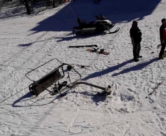 camelback mountain resort, Pennsylvania, Sullivan express,