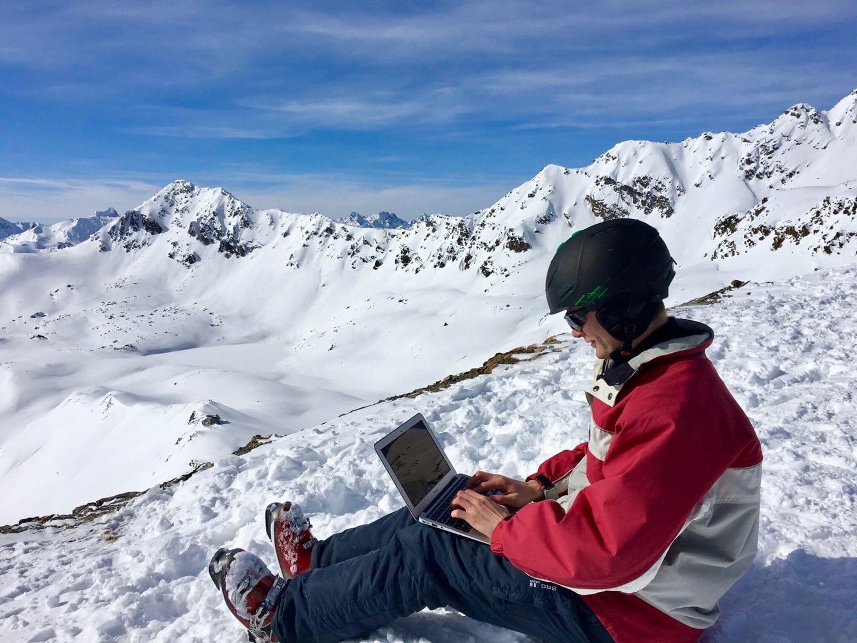 nomadic ski trip