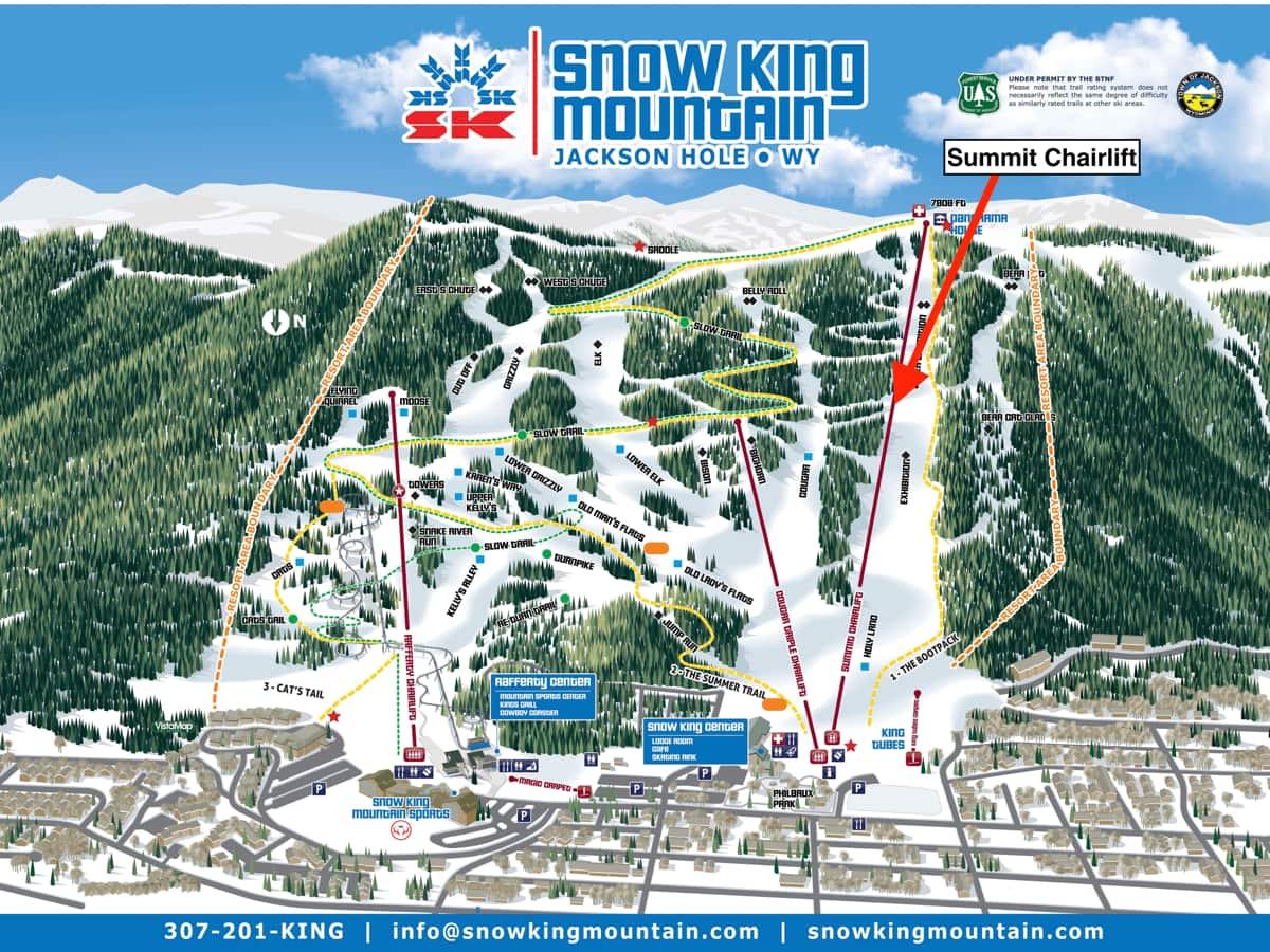 snow king mountain, wyoming, Jackson Hole,