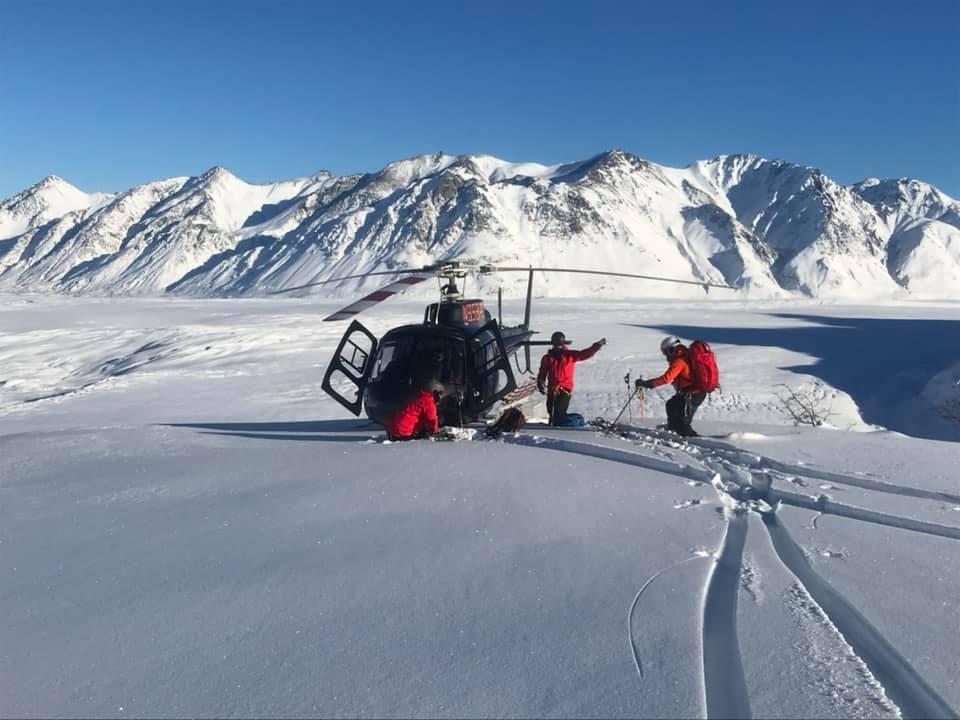 majestic Heli-ski, avalanche, Alaska,