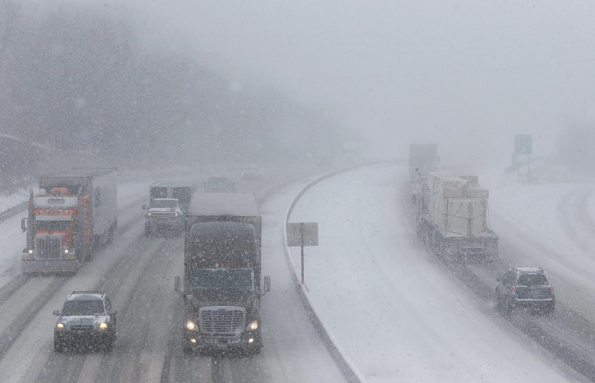 Highway Snowfall