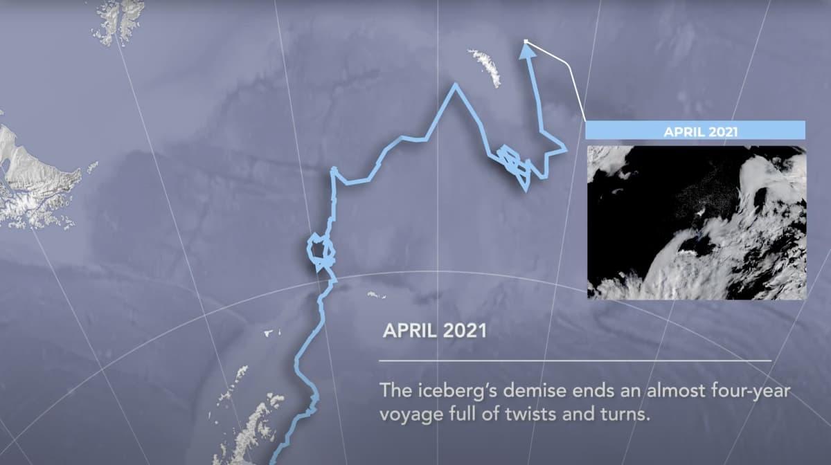 antarctic, iceberg,