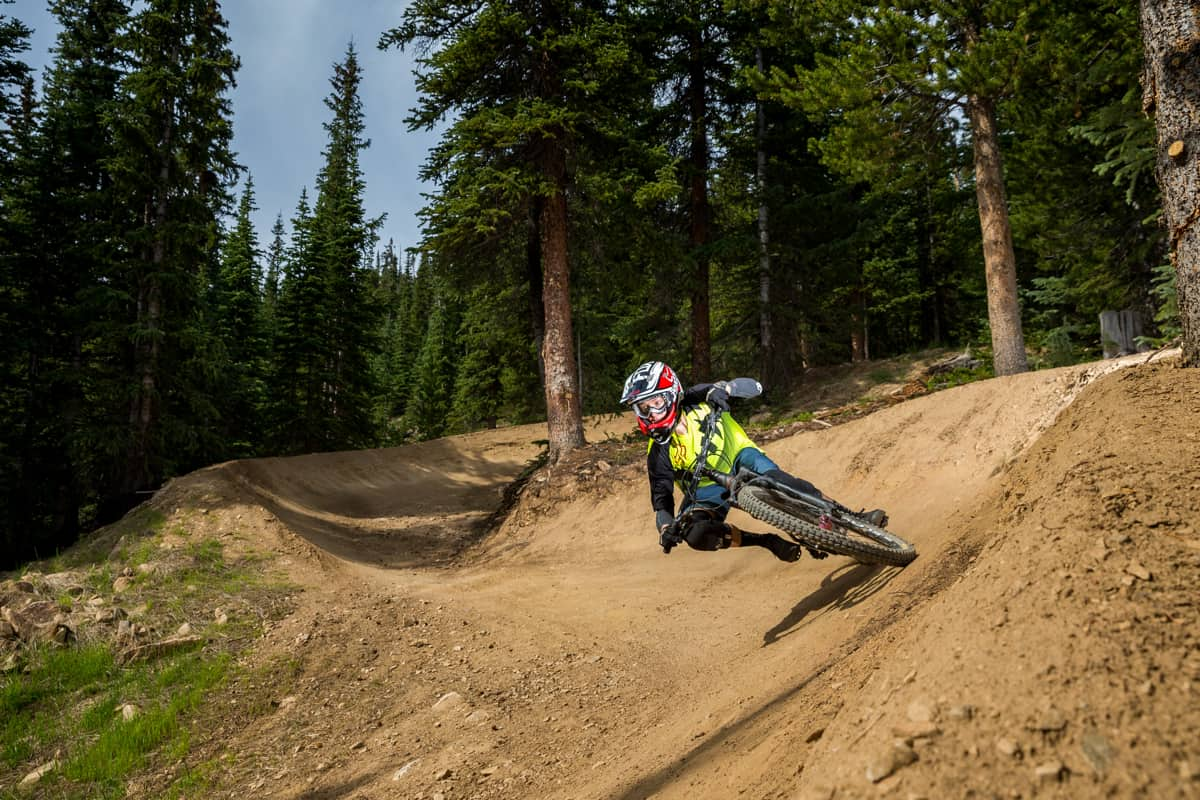 downhill biking, keystone, colorado