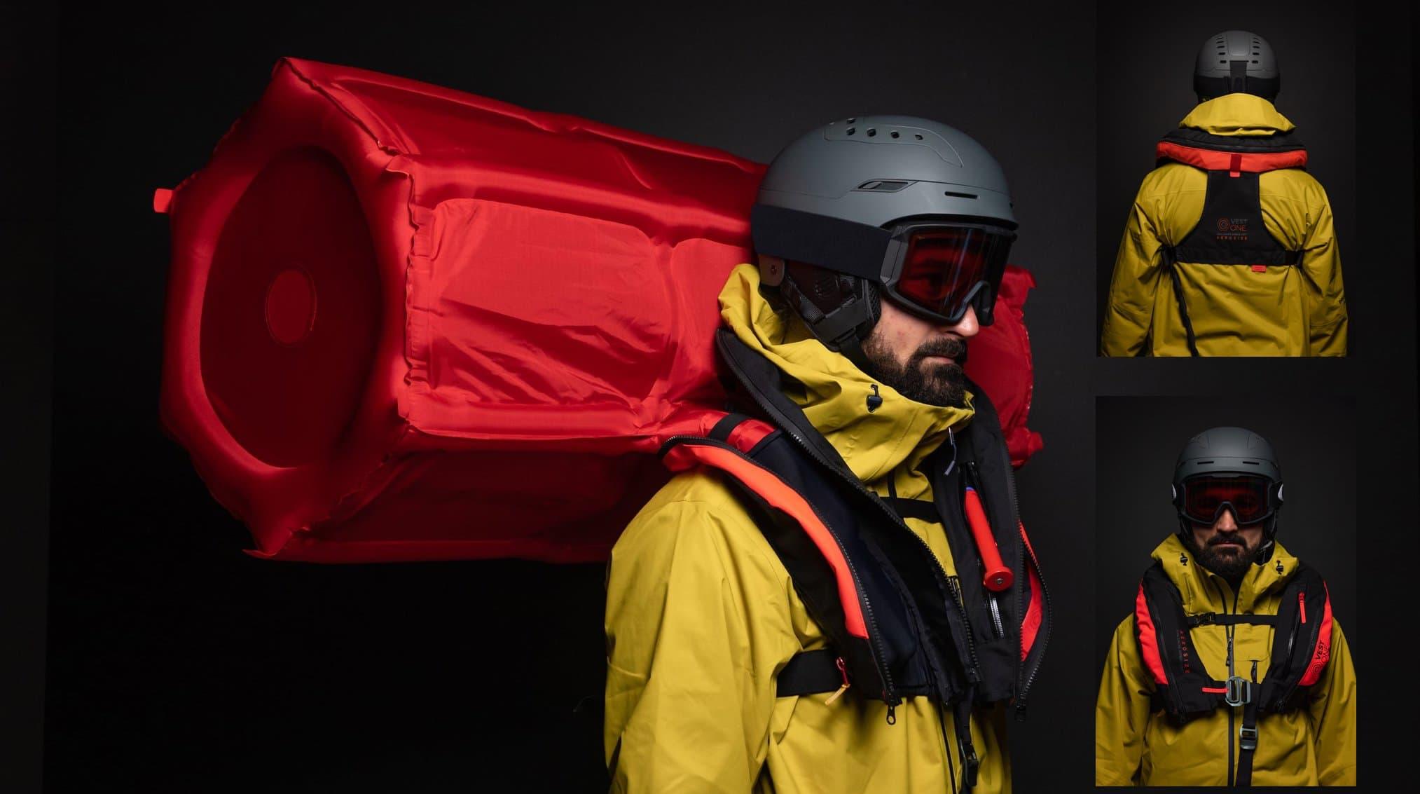 avalanche, airbag, vestone, Aerosize
