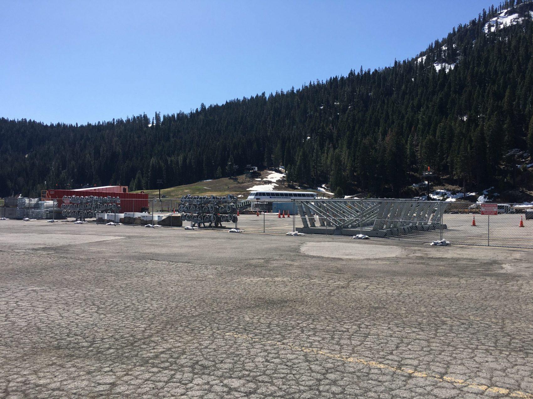 Squaw Valley, alpine meadows, gondola, base to base, California,