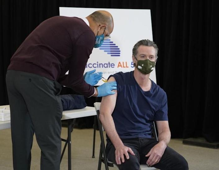 Gavin Newsom, california, vaccine