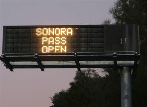 Sonora Pass, sr-108, california
