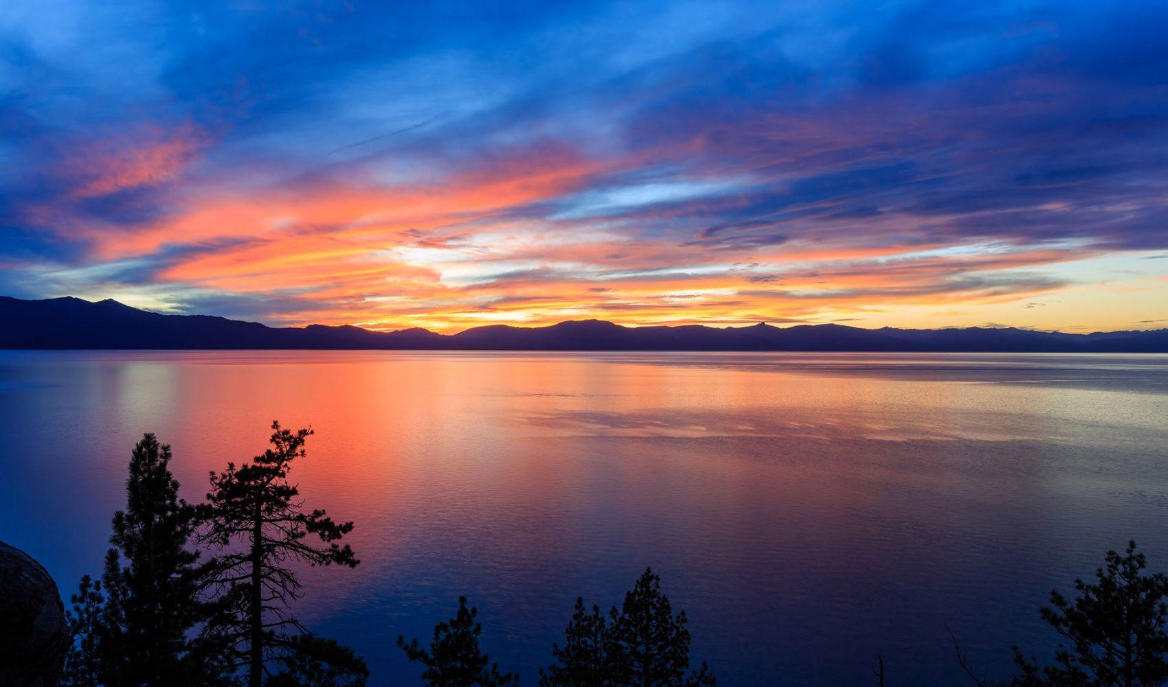 Lake Tahoe over tourism
