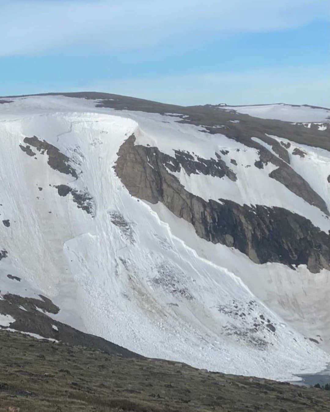 avalanche, bear tooth basin,