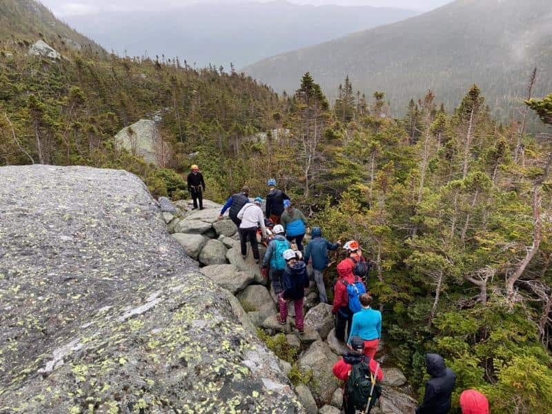 Tuckerman Ravine, New Hampshire,
