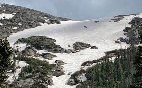Sundance mountain, Colorado, Rocky Mountain national park