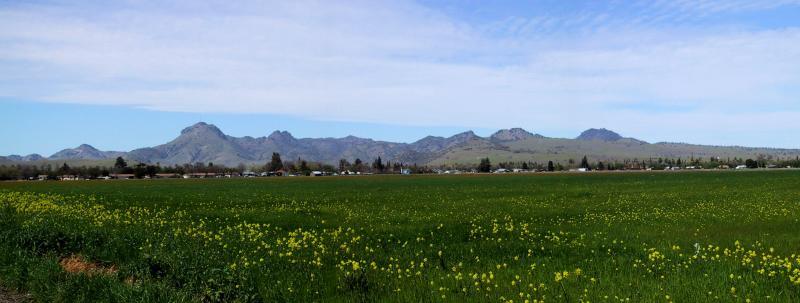 Sutter Buttes, california,