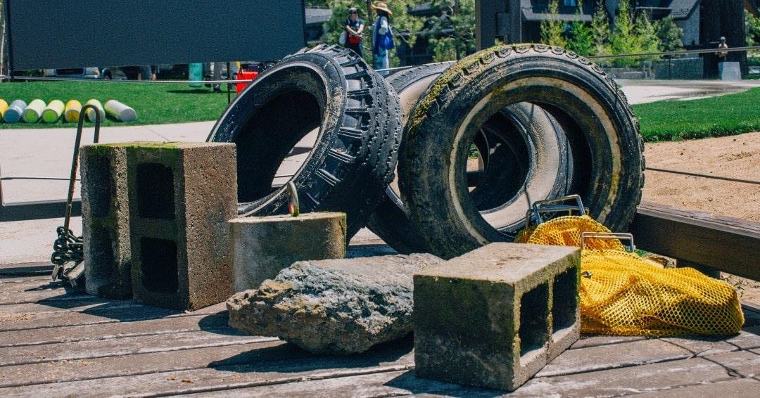 Garbage found in Lake Tahoe