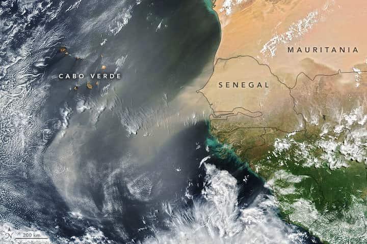 nasa, sahara, dust cloud, sand