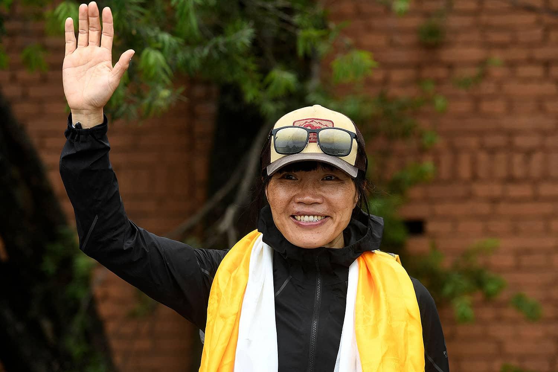 fastest woman, Everest,