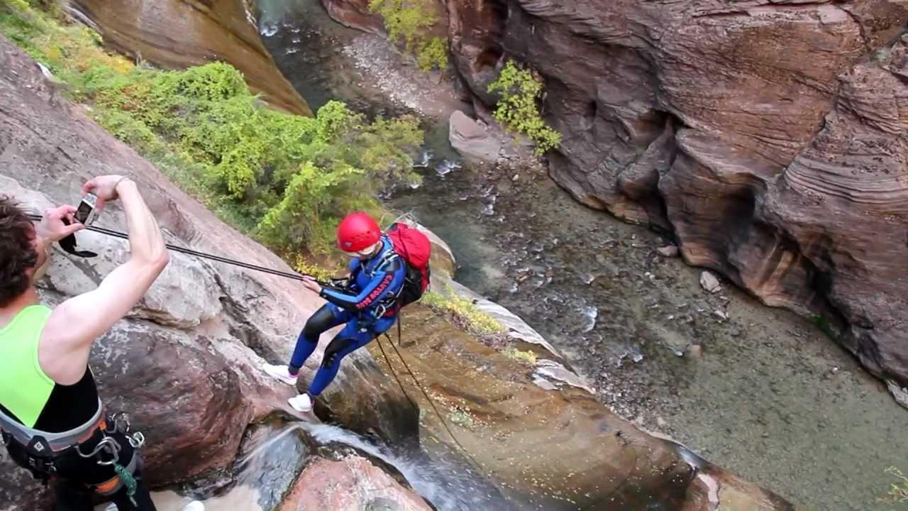 mystery canyon, Zion national park,