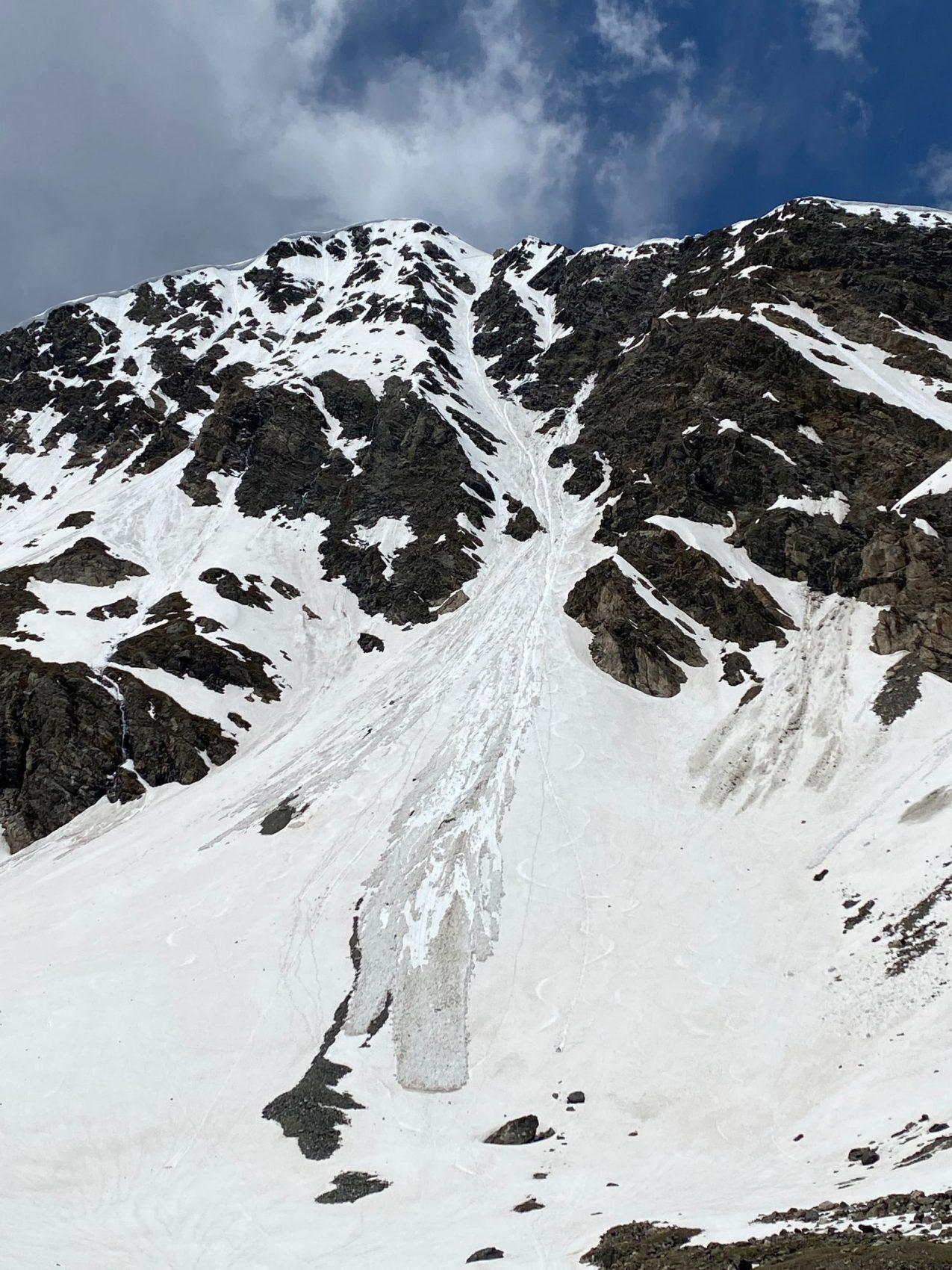 avalanche, Torreys Peak, colorado