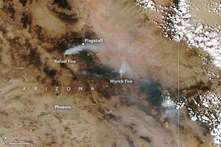arizona, wildfires,