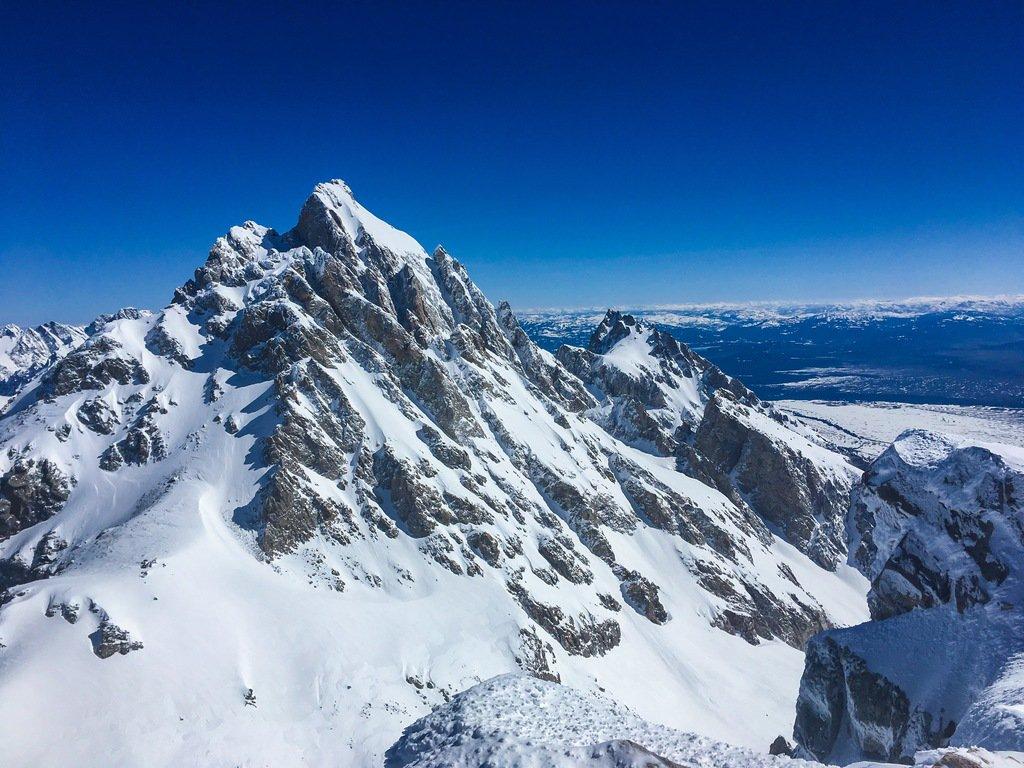 snowy Teton