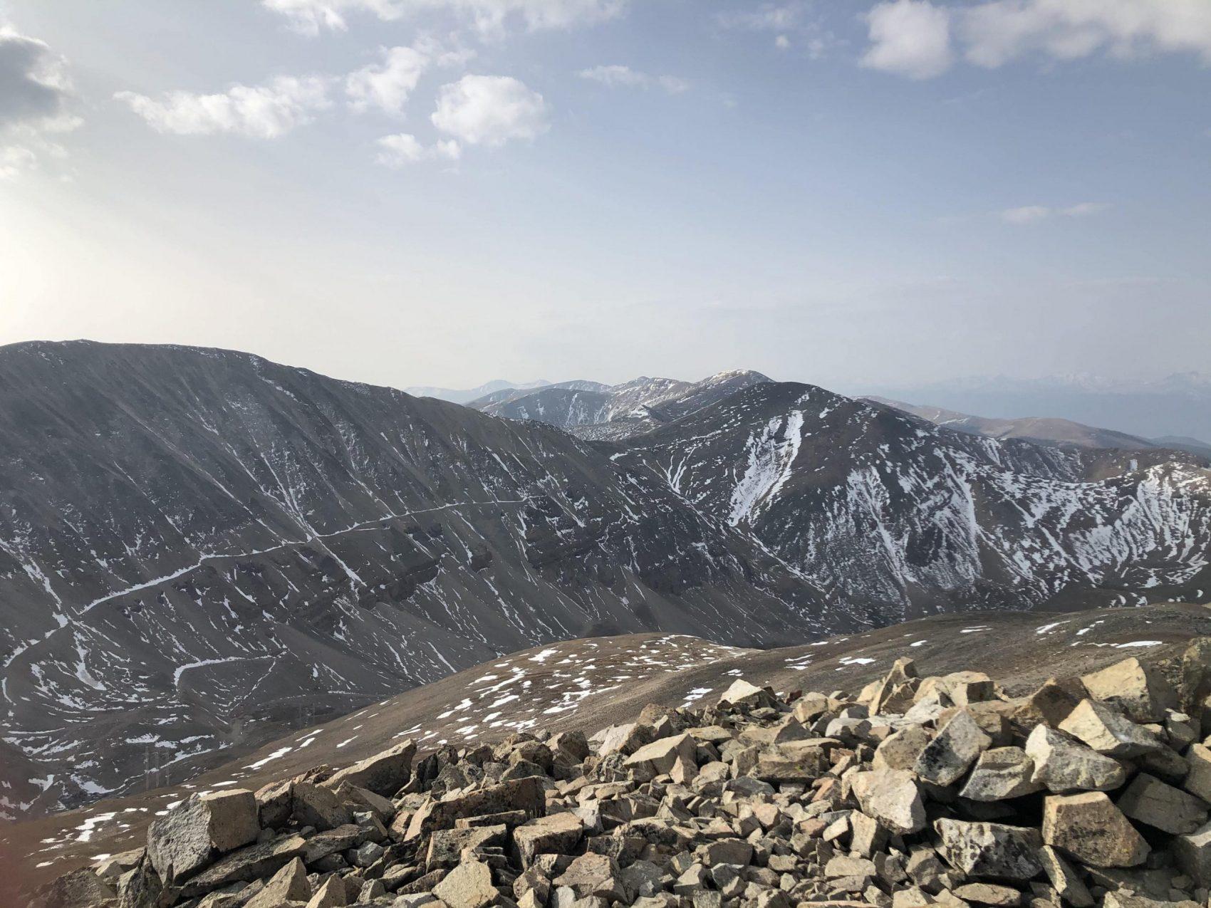 Mt. Sherman South Ridge