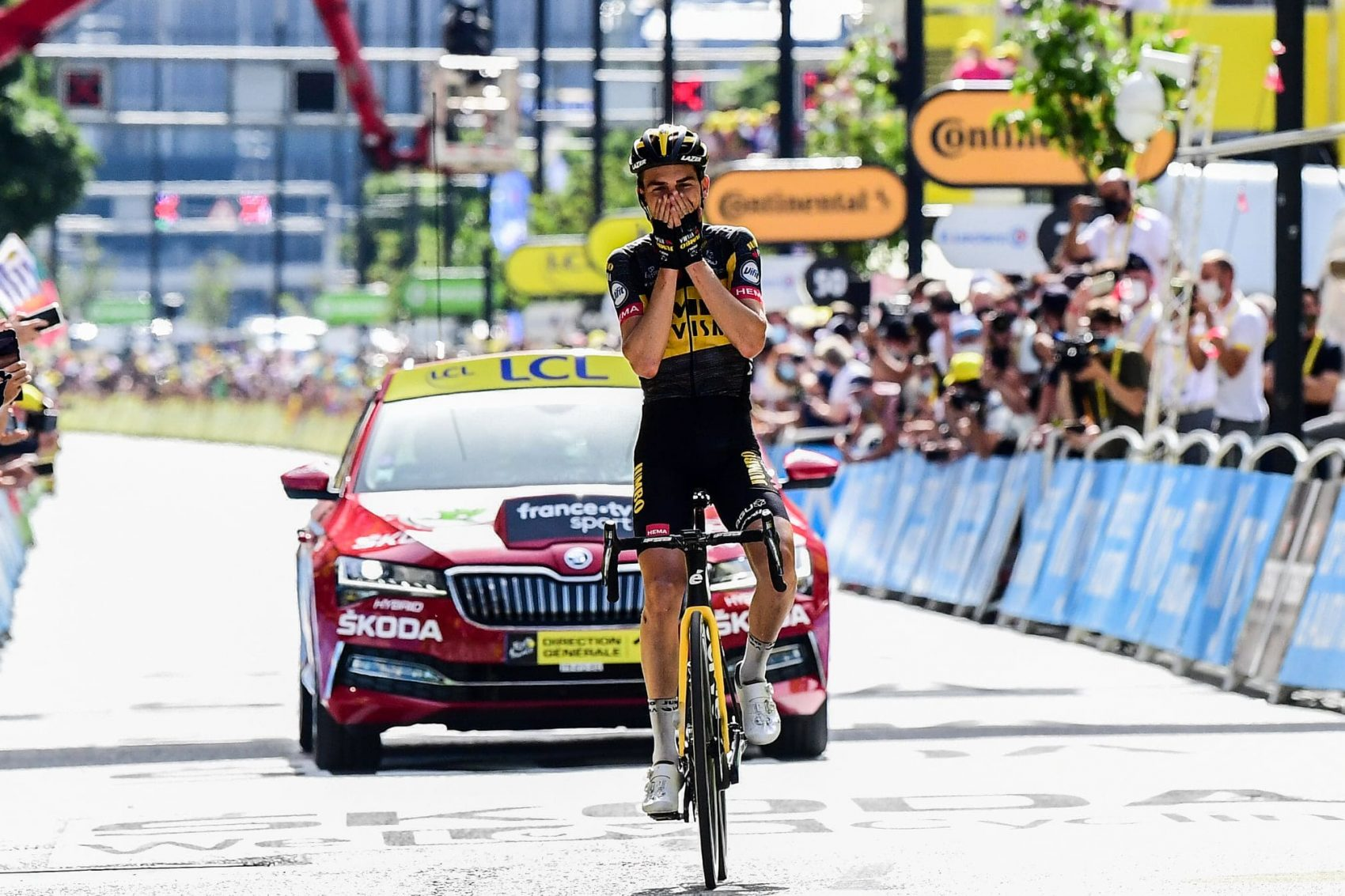 American Wins a stage of the Tour
