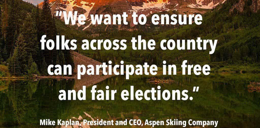 aspen snow mass, John Lewis, voters rights amendment act, vraa