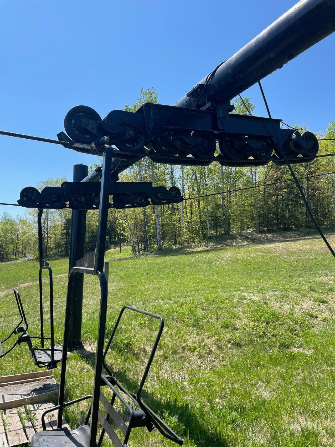 chairlift for sale, spirit mountain, Minnesota,